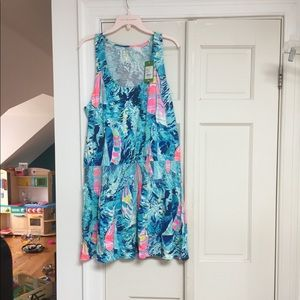NWOT Lilly Pulitzer Tideline Dress XL